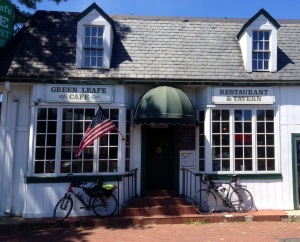 Once known as The Colonial Restaurant, this eatery is now a burger and beer joint known well by William and Mary students as The Greenleafe Cafe.