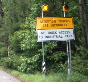 We need a few of these signs around the Blue Ridge Parkway.