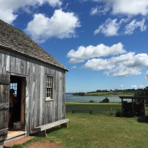 The Docet House, a reconstructed period home, is similar to those the Acadians lived in when they came to PEI, historians say.