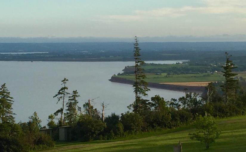 Blomidon Provincial Park, Nova Scotia,Canada