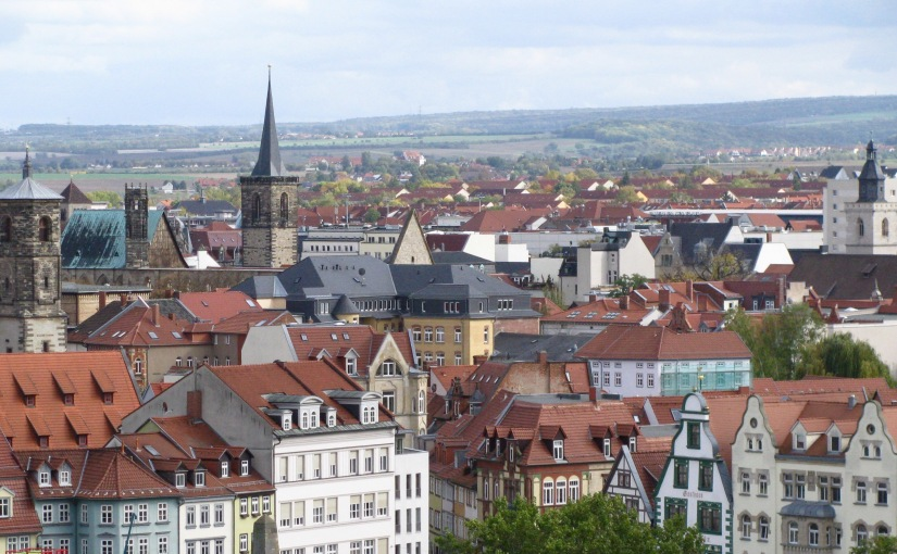 Erfurt 1 – On the Trail of Martin Luther
