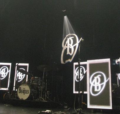 The show's set