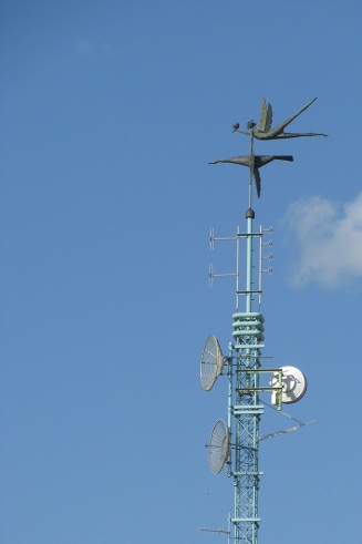 Cell tower art