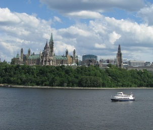 City from the Ottawa River