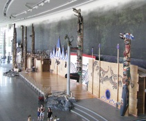 Inside the Museum of Civilization: The Great Hall from Above