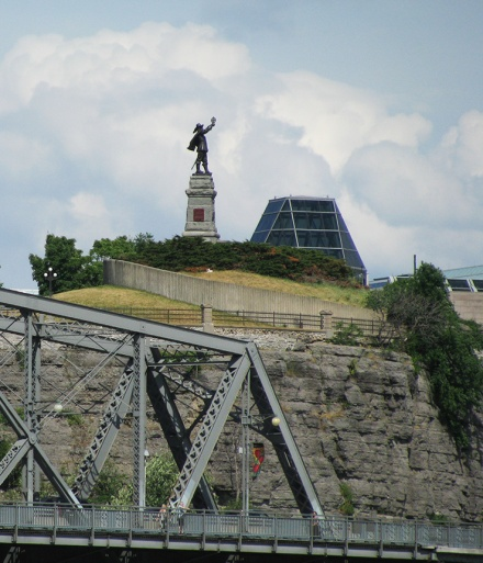 Statue on the bluff
