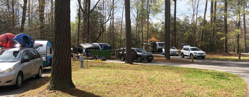 Chippokes Plantation Campground, April 5 &6