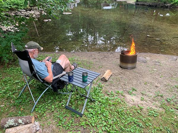 Waterhouse Campground, Salisbury,VT